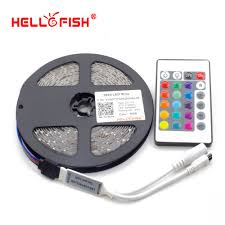 Led Light Strip Controllers by Aliexpress Com Buy Hello Fish 3528 Rgb Flexible 300 Smd Led