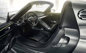 porsche concept interior pure energy the 918 spyder
