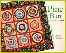 pine burr quilt pattern fabulous texture wall quilt alabama