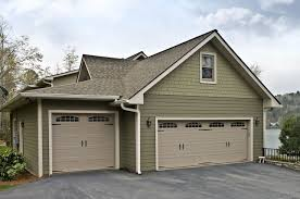 two sizes garage and two sizes garage door same color same design