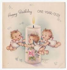 vintage greeting card cute teddy bear die cut baby u0027s 1st birthday