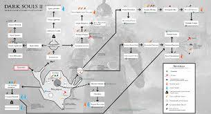 Dark Souls World Map by