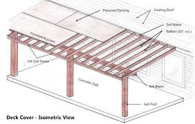 How To Build A Cheap Patio Patio Cover Plans Build Your Patio Cover Or Deck Cover
