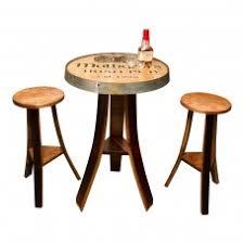 Napa Bistro Table Napa East Collection Wine Barrel Home Decor