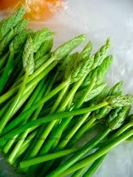 cuisiner asperge verte 2 idées pour cuisiner la pousse d ornithogale tout le monde
