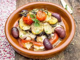 cuisine provence provence style cod casserole a soscuisine recipe