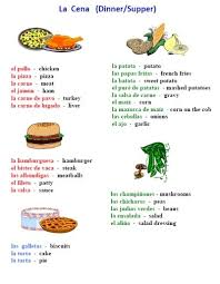 free food in spanish worksheet packet 25 pages easy to