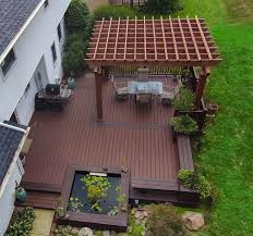 Patio Deck Ideas Backyard by 25 Best Ground Level Deck Ideas On Pinterest Wood Patio Simple