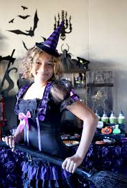 masquerade halloween party atlanta deluxe girls wicked witch with hat oz halloween fairytale fancy