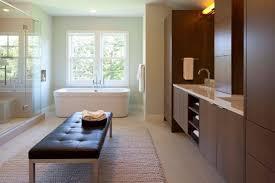 Fresh Vanity Benches For Bathroom Bathrooms Fresh Modern Cozy Bathroom With Wooden Vanity Cabinet