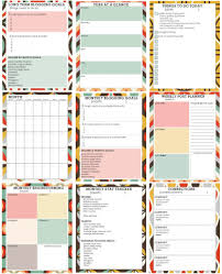 cute daily planner template free printable blog planner one of the most comprehensive free printable planner but use as goal setting template