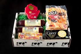 Cheese And Sausage Gift Baskets Wi Cheese U0026 Sausage Box Gift Baskets U0026 Boxes Lodi Wi