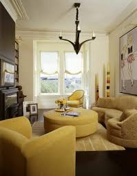 Table L Chandelier Furniture Yellow Ottoman Coffee Table Be Equipped With Yellow