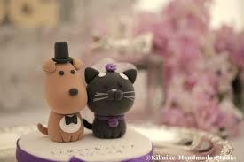 dog cake topper cat and dog cake ideas 4633 custom made dog wedding cake t