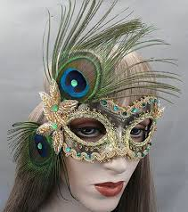 peacock masquerade masks masquerade mask now available in all gold