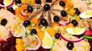 cuisine de sousou salade cuisine marocaine recette par sousoukitchen