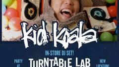 Turn Table Lab Kid Koala