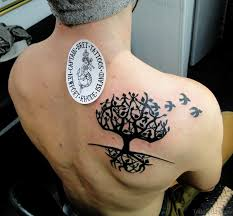 44 celtic tree tattoos on back