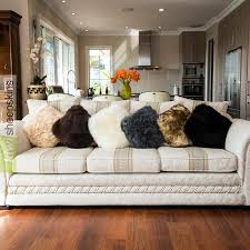 Mongolian Lamb Cushion Genuine Sheepskin Pillows Cushion Covers Nz Made