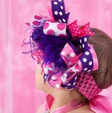 beautiful bows boutique buy purple hot pink hair bow headband online at beautiful