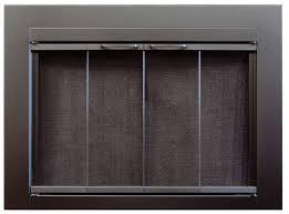 fireplace screen with glass doors portland willamette fireplace glass door monroe fireplace