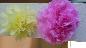 How To Make Mexican Paper Flowers - 3 ways to make tissue paper flowers wikihow