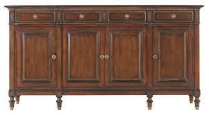 hickory white large buffet 730 22 transitional buffets and
