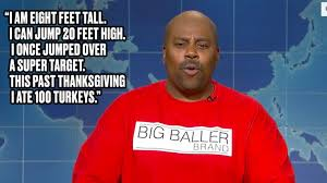 saturday night live thanksgiving skit watch lavar ball get parodied perfectly on u0027saturday night live