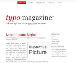 free typographic xhtml css layouts for your designs u2014 smashing