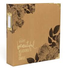 8x11 photo album heidi swapp storyline floral 8x11 album