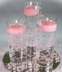water centerpieces non flower centerpiece ideas water candle centerpieces and