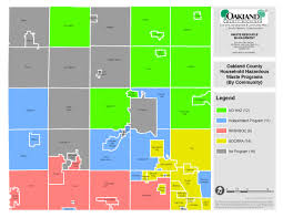 Michigan Township Map by Safely And Responsibly Dispose Of Your Hazardous Waste