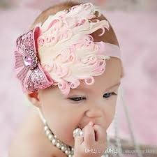 headbands for hair flower hair headbands baby feather flower artifical