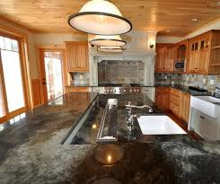 Best Kitchen Island The Best Of Large Multi Level Island Farmhouse Kitchen Boston By
