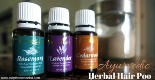 essential oils for hair growth and thickness diy ayurvedic herbal hair shoo overthrow martha
