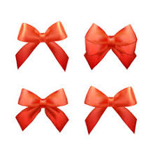 christmas gift bow christmas bow vector images 14 000