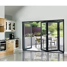 Wickes Bi Fold Doors Exterior Wickes Burman Slimline Finished Bi Fold Door Set Grey Wickes Co Uk
