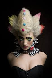 Girls Halloween Makeup 132 Best Clown Bouffon Images On Pinterest Halloween Makeup
