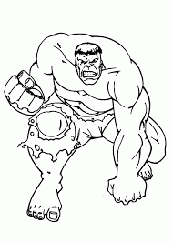incredible hulk coloring pages coloring