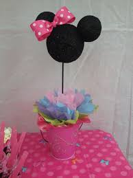 Centerpieces For Birthday by 246 Best Aubrey U0027s Minnie Mouse Party Ideas Images On Pinterest