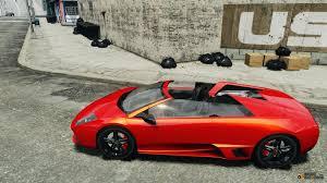 Lamborghini Murcielago Red - lamborghini murcielago lp650 4 roadster for gta 4