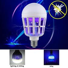 insect killer light bulb 2 in 1 bug zapper led bulb e27 15w mosquito killer l pest