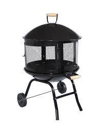 Firepit On Wheels Awesome Portable Pit With Wheels Outdoor Portable Pit