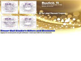 coupons nail salon mansfield tx