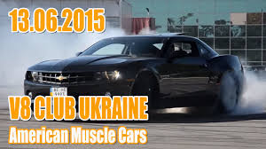 2015 Muscle Cars - v8 club ukraine the 2nd meeting of american muscle cars in 2015