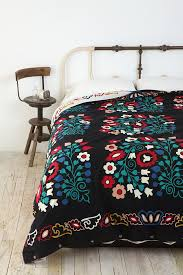 World Map Duvet Cover by Folk Floral Reversible Duvet Cover Quilt Cover Bedspread And