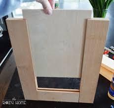 build your own shaker cabinet doors remodelaholic how to make a shaker cabinet door wood building