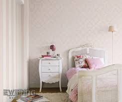 Schlafzimmer Tapete Design Rasch Sophie Charlotte 3 Streifentapete Und Ornament Und Alt