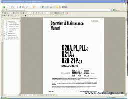 komatsu css service crawler dozers d 20 to d 575 repair manual