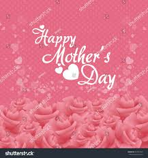 happy mothers day card design vector stock vector 267043529